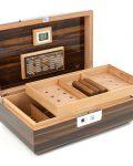 Large Fingerprint Cigar Humidor Box CH-1356