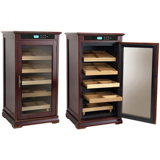 1250CT Electronic Humidor Cigar Cabinet Redford