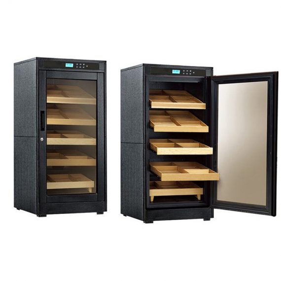 1250CT Electronic Humidor Cigar Cabinet Redford Lite