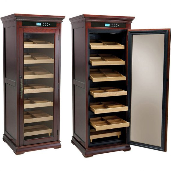 2000CT Electronic Cigar Humidor Cabinet Remington