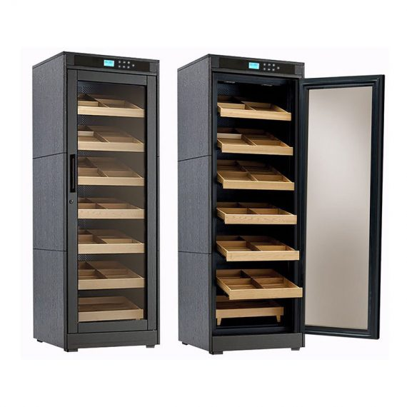 2000CT Cigar Electric Humidor Cabinet Remington Lite