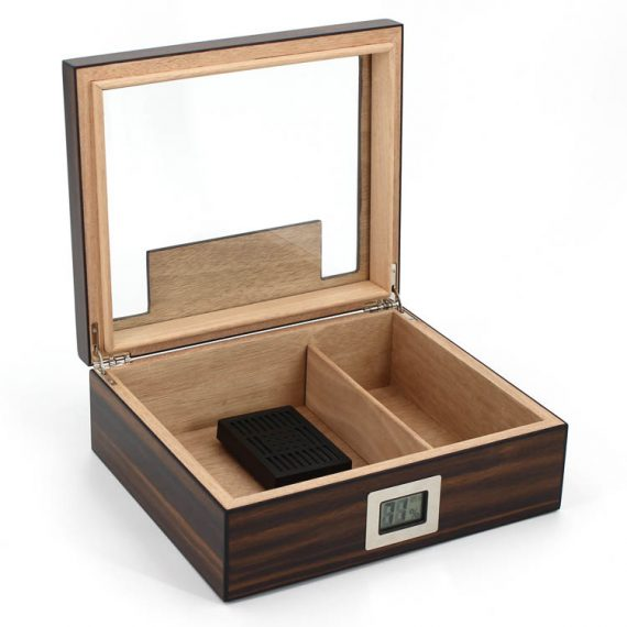Glass Top Cigar Humidor CH-1283