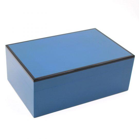 Blue Medium Humidor CH-1303