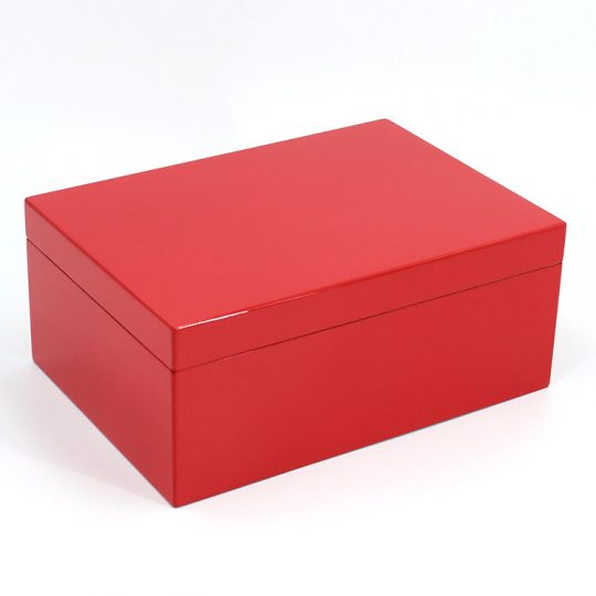 Red Medium Humidor CH-1353R