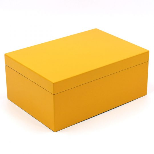 Yellow Medium Humidor CH-1353Y