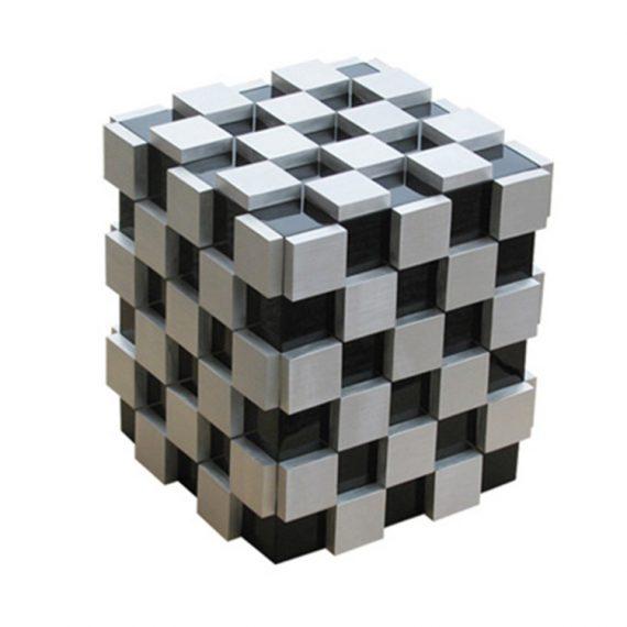 White Rubik's Cube Humidor CH-0760