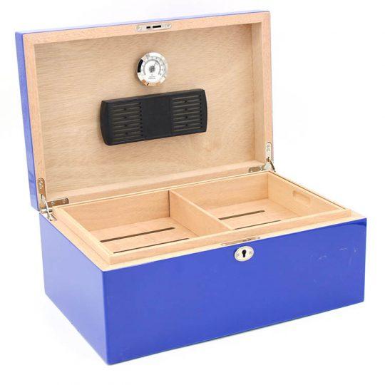 Blue Cigar Humidor CH-1280B