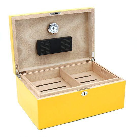 Yellow Cigar Humidor CH-1280Y