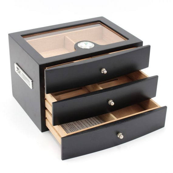 Glass Top Humidor Drawer CH-1358