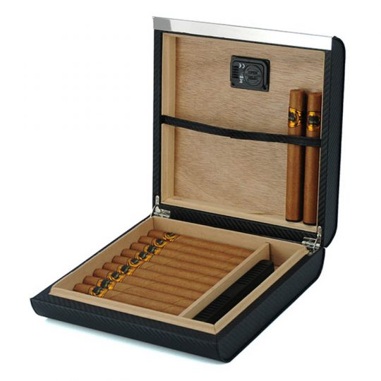 Carbon Fiber Travel Humidor CH-2270